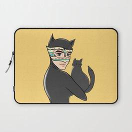 Cat without Bat - Hala Alhaid Laptop Sleeve