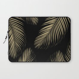 Palm Leaves - Gold Cali Vibes #4 #tropical #decor #art #society6 Laptop Sleeve
