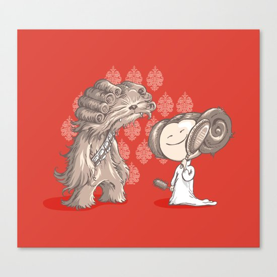 New Hairstyle Canvas Print