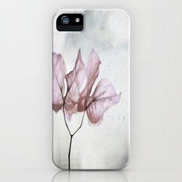 pale flower iPhone Case