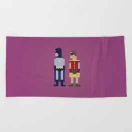 Dynamic Duo Beach Towel