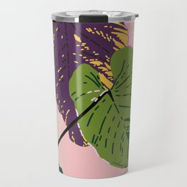 View from Backstage - Tropical Jungle Illustration Travel Mug