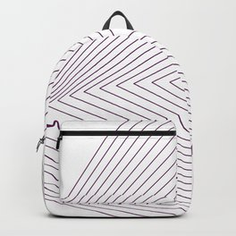 Triangle drop Backpack