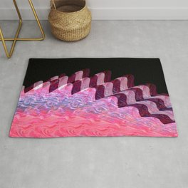 Riding the Waves Rug