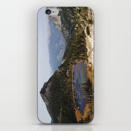 Rocky Mountain Lakes iPhone Skin