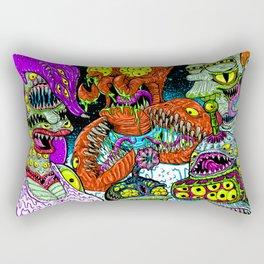 Future Monsters Rectangular Pillow