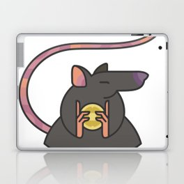 Greedy Rat Illustration Laptop & iPad Skin