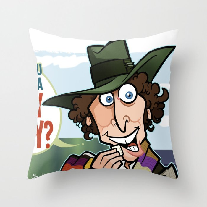 Care for a Jelly? Throw Pillow