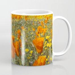 California Wildflower Poppy Superbloom Coffee Mug