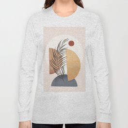 Minimal Abstract Shapes No.50 Long Sleeve T-shirt