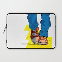 Follow the yellow brick road Laptop Sleeve