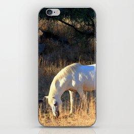 The White iPhone Skin