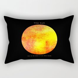 The Sun  Rectangular Pillow