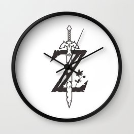 Legend of Zelda Sword Wall Clock