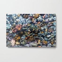 Pebble beach 4 Metal Print