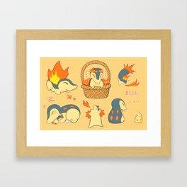 Quils! Framed Art Print