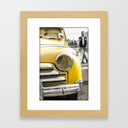 Rock and roll attitude Framed Art Print
