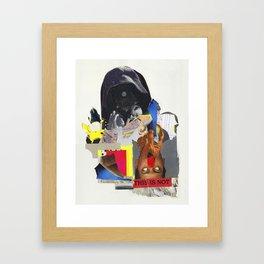CRUTSH Framed Art Print