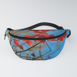 Flaming Autumn Fanny Pack