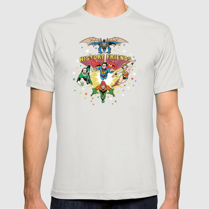 History Friends T-shirt