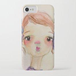 Little Girl Michelle (short) iPhone Case