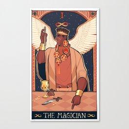 MAGICIAN'S RED (I) Canvas Print