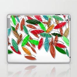 colored leaves Laptop & iPad Skin