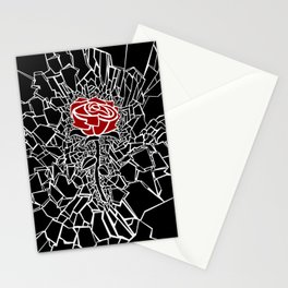 The Shattered Rose Stationery Cards