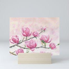 Magnolias Blossom Mini Art Print