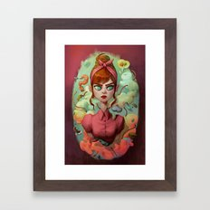 The Splashy Compo Framed Art Print