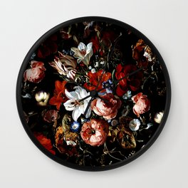 Night Garden XXXVIII Wall Clock