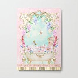 Marie Antoinette Bath  Metal Print