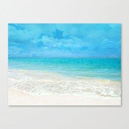 Beach, Tropical Paradise Canvas Print