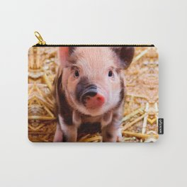 Cute Baby Piglet Farm Animals Babies Carry-All Pouch