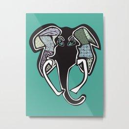 Elephant, redesigned Metal Print