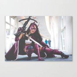 Lay Huntress Canvas Print