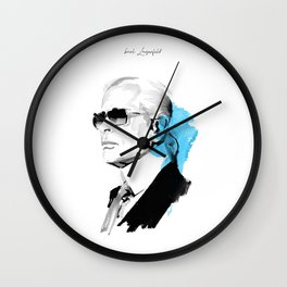 Karl Lagerfeld Wall Clock