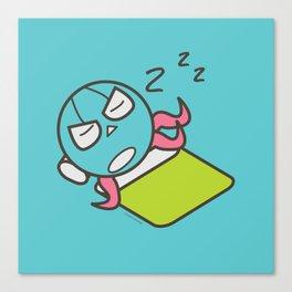 Sleeping Octopus Canvas Print