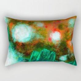 Abstract Landscape (Floating Lights) Rectangular Pillow