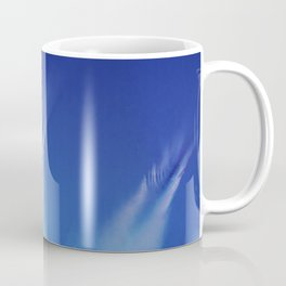 White Feathers Floating Up to Heaven Coffee Mug