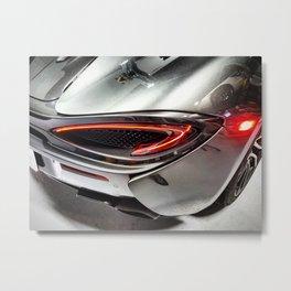 McLaren 570S Storm Grey Metal Print