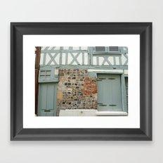 Half Timber House Framed Art Print