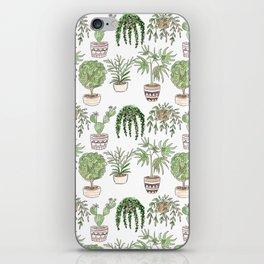 Watercolor . Plants . iPhone Skin