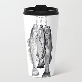 3 Amigos - Red Drum, Sea Trout, Striped Bass Travel Mug