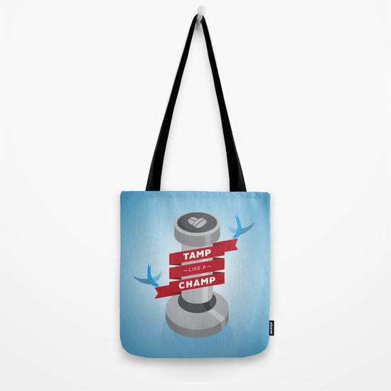 Tamp Like A Champ Tote Bag