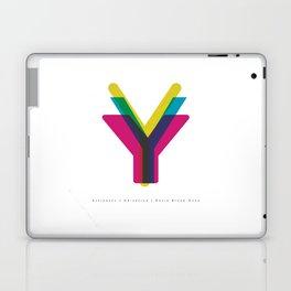 "San Serif ""Y"" Laptop & iPad Skin"