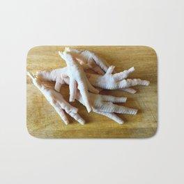 Chicken Feet without Toenails Bath Mat