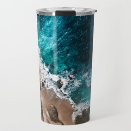 Rocky Beach Travel Mug