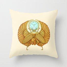 Time Flies Throw Pillow