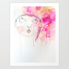 AY x WildHumm 3 Art Print
